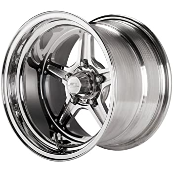Billet Specialties Street Lite Polished - 15 x 10 Inch Wheel