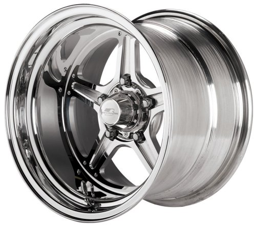 Billet Specialties Street Lite Polished - 15 x 10 Inch Wheel by Billet Specialties