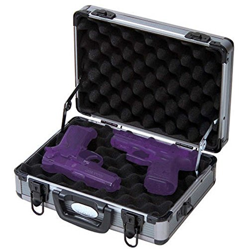 ADG Sports Aluminum Two Pistol Gun Case