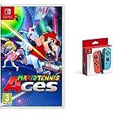 Nintendo Mario Tennis Aces + Doppio Joy-Con Blu/Red