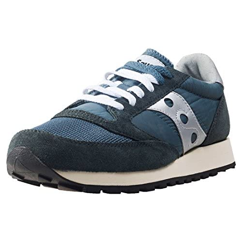 chollos oferta descuentos barato Saucony Jazz Original Vintage Zapatillas de Cross Unisex Adulto Azul Blue Navy Silver 4 49 EU