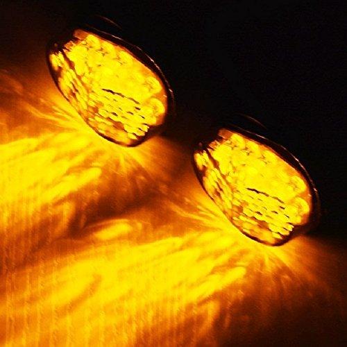 Motorcycle LED Turn Signal Light Smoke Lens For Aftermarket Sport bike Street bike aegarage86® aegarage86198675