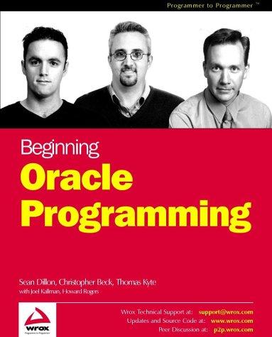 Download Beginning Oracle Programming pdf