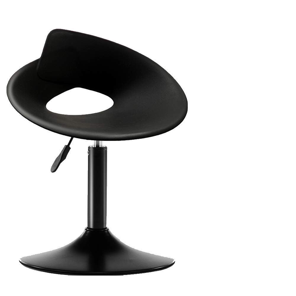 Black Dining Chair bar Chair Leisure Chair Dining Chair Dressing Table Coffee Shop Home Office Chair Desk Computer Chair-Black