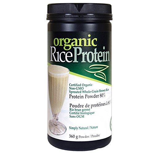 Prairie Naturals Organic Sprouted Brown Rice Protein Natu...