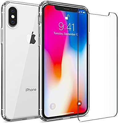 iphone xs max hard clear case