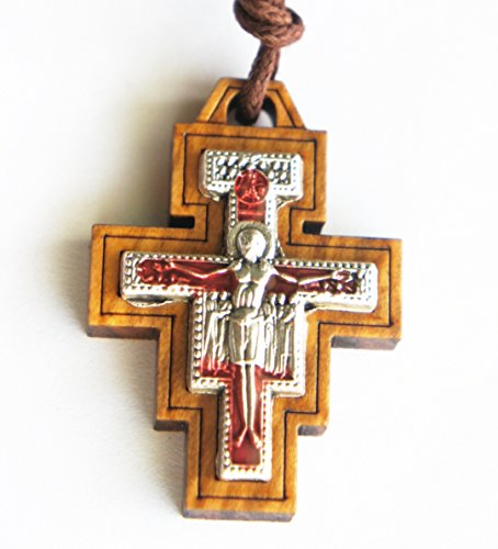 SAN DAMIANO Necklace Confirmation FIRST HOLY COMMUNION Baptism