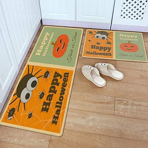 Kitchen Mat Set, 2 Piece Comfort Doormat, 18