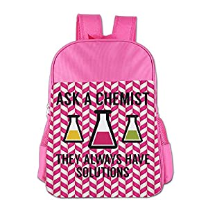 Mokjeiij Ask A Chemist Unisex Girls Boys School Backpack Children's