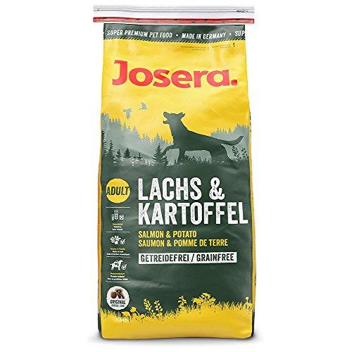 JOSERA Lachs & Kartoffel (5 x 900 g)   getreidefreies Hundefutter   Lachsprotein als einzige tierische Proteinquelle…