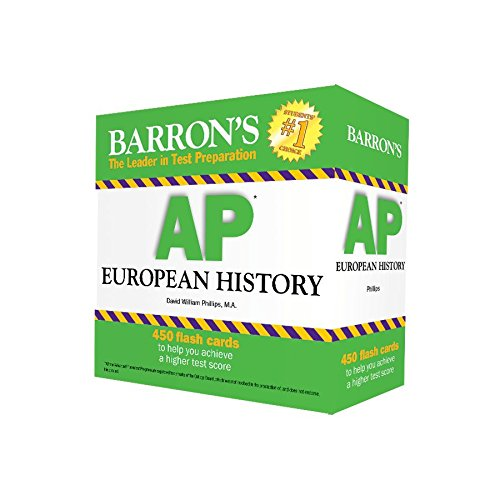 Barron's AP European History Flash Cards cover