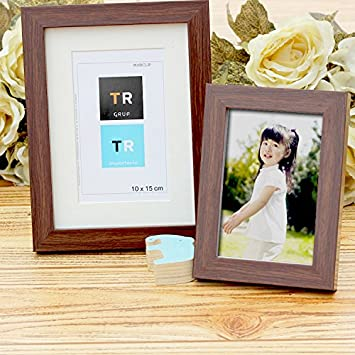 Amazon 3 Pack Wood Photo Frames 4x6 Plain Picture Frame