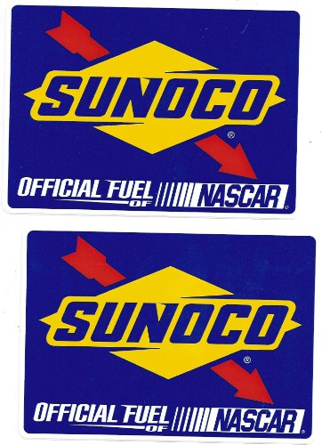 sunoco-nascar-racing-decals-stickers-6-1-2-inches-long-size-set-of-2