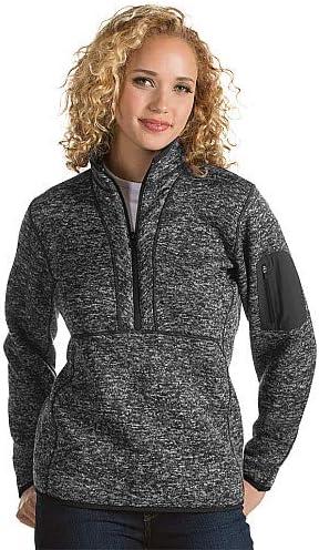 Antigua Men/'s Fortune 1//4 Zip Sweater Knit Pullover