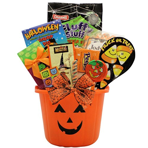 Halloween Spooky Basket.10 Of The Best Halloween Gift Basket Ideas For A Scary