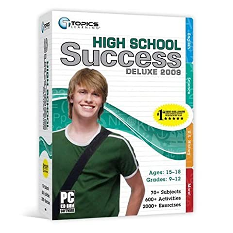 High School Success Deluxe 2009 [Old Version] (Educational Software)