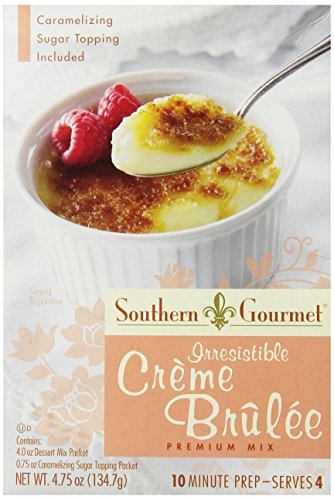 Southern Gourmet Dessert, Creme Brulee, 4.75 Ounce