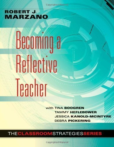 Becoming a Reflective Teacher (Classroom Strategies) (Edition unknown) by Robert J. Marzano, With Tina Boogren, Tammy Heflebower, Jess [Paperback(2012£©]