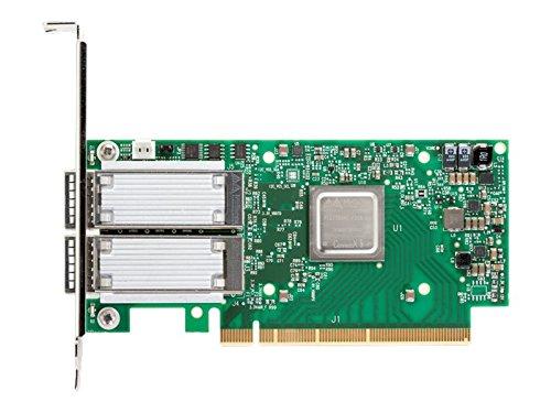 Mellanox ConnectX-5 EN Network Adapter PCI Express 3.0 x8 Gb Ethernet 10 Gb Ethernet 25 Gb Ethernet Green/Silver (MCX512A-ACAT)