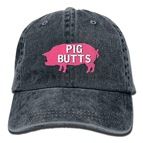 Women Hats Men Skull Cowgirl Denim I Hat Cap Sport for Butts Pig DEFFWB Like Cowboy pqZx6PC