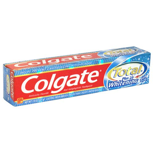 Colgate Total Multi-Protection Toothpaste, Whitening Gel, 7.8 oz