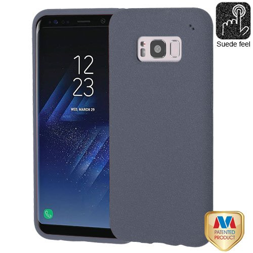 Galaxy S8 Plus Case, Mybat Frosted Spot TPU Rubber Candy Skin Case Cover for Samsung Galaxy S8 Plus S8+, Gray