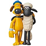 Medicom Aardman Animations 2: Shaun & Bitzer Ultra Detail Figure
