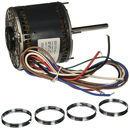 Thru Motor Bolt - Marathon X002 48Y Frame Direct Drive Blower Motor, Single Phase PSC, Thru-Bolt Mount, Open Air Over, Shaft Dimension 1/2