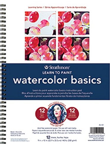 Strathmore 200 Learning Series Watercolor Basics Pad, 9