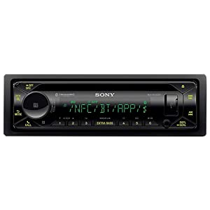Sony MEX-N5300BT Car Stereo Single Din Radio with Bluetooth, CD Player, USB/AUX (Tamaño: Single DIN)
