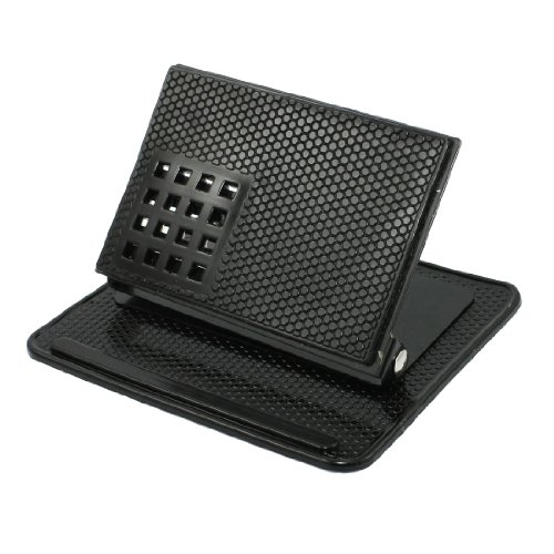 Amazon.com: uxcell Black Car Holder Bracket Cradle w Non-Slip Mat for GPS Phone: GPS & Navigation