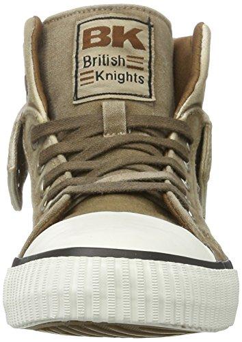 British Knights Roco, Zapatillas Altas para Hombre marrón