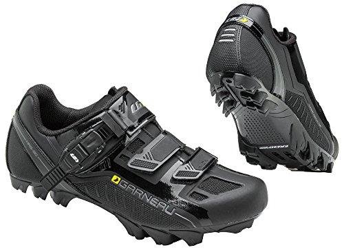 Louis Garneau Women's Mica MTB Bike Shoes, Black, 38 by Louis Garneau