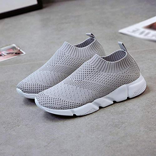 Slip HEHEM Soles Mesh Casual Shoes Women Athletic Buy Online Shoes Women Outdoor Clearance Shoes Gray Shoes Comfortable Running Shoes Shoes On Designer Shoes Formal Sports qOvx45nx