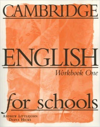 """""DOCX"""" CAMBRIDGE ENGLISH FOR SCHOOLS 1 WORKBOOK. Business buscador array agosto Kimberly estaba adapta"