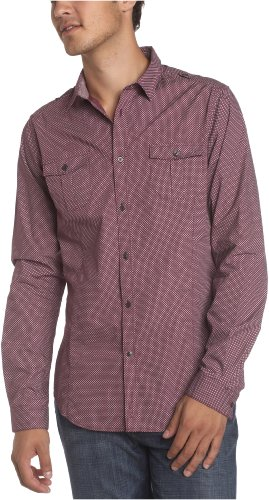 Ben Sherman Men's Grebe Woven Long Woven Shirt