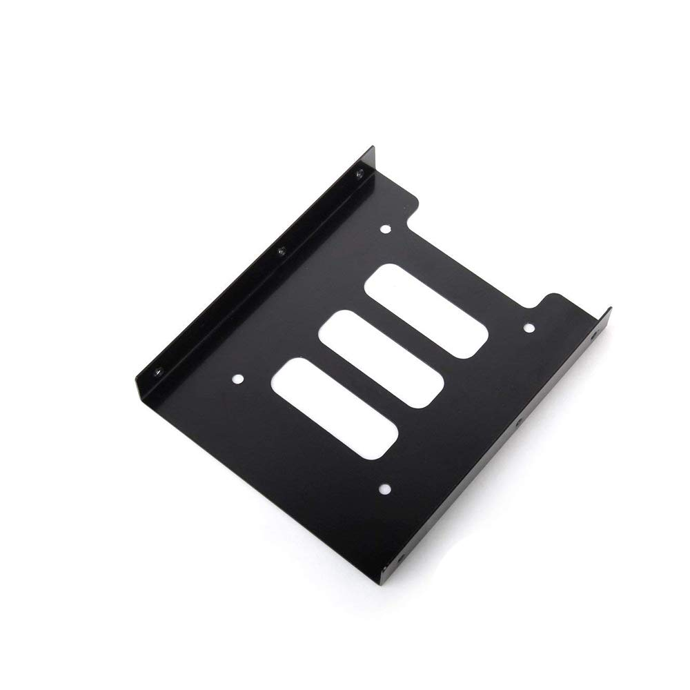 Potelin 2.5 inch SSD HDD for PC → 3.5 inch Metal Mount Adapter Bracket Dock Hard Drive Holder