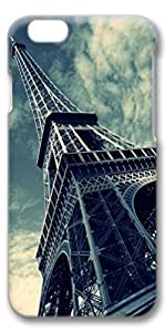 iphone 4s Case, Customized Slim Protective Hard 3D Case Cover for Apple iphone 4s- Eiffel Tower2