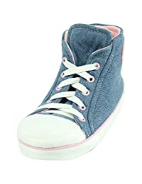 Forfoot Toddler's/Little Kids Winter Cozy Cute High Top Non Slip Indoor Slipper Boots House Sneakers