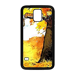 Laser Technology problems Calvin and Hobbes Custom Durable and Slim Plastic Case Cover for Samsung Galaxy have S5 -Black031304 between