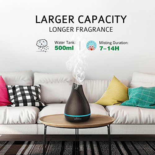 VicTsing-500ml-Essential-Oil-Diffuser-Reduce-Noise-Design-Quieter-Longer-Mist-Output-Time-7-14-Hours-Ultrasonic-Aroma-Diffuser-with-Waterless-Auto-off-7-Color-LED-Soft-Light-for-Home-Office