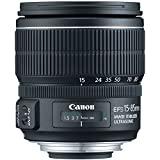 Canon EF-S 15-85mm f/3.5-5.6 IS USM UD Standard Zoom Lens for Canon Digital SLR Cameras (Certified Refurbished)