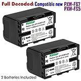 Kastar BP-U30 Battery (2-PACK) for Sony BP-U90 BP-U60 BP-U30 and Sony PXW-FS7/FS5/X180 PMW-100/150/150P/160 PMW-200/300 PMW-EX1/EX1R PMW-EX3/EX3R PMW-EX160 PMW-EX260 PMW-EX280 PMW-F3 PMW-F3K PMW-F3L
