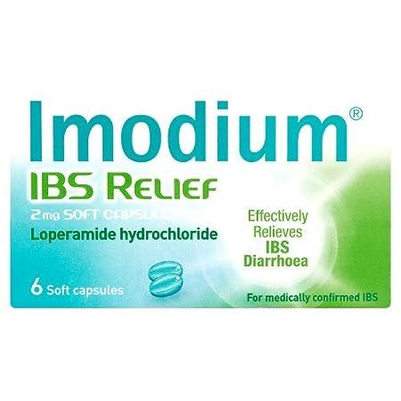 Imodium Ibs Relief Capsules 6 Capsules Amazon Health