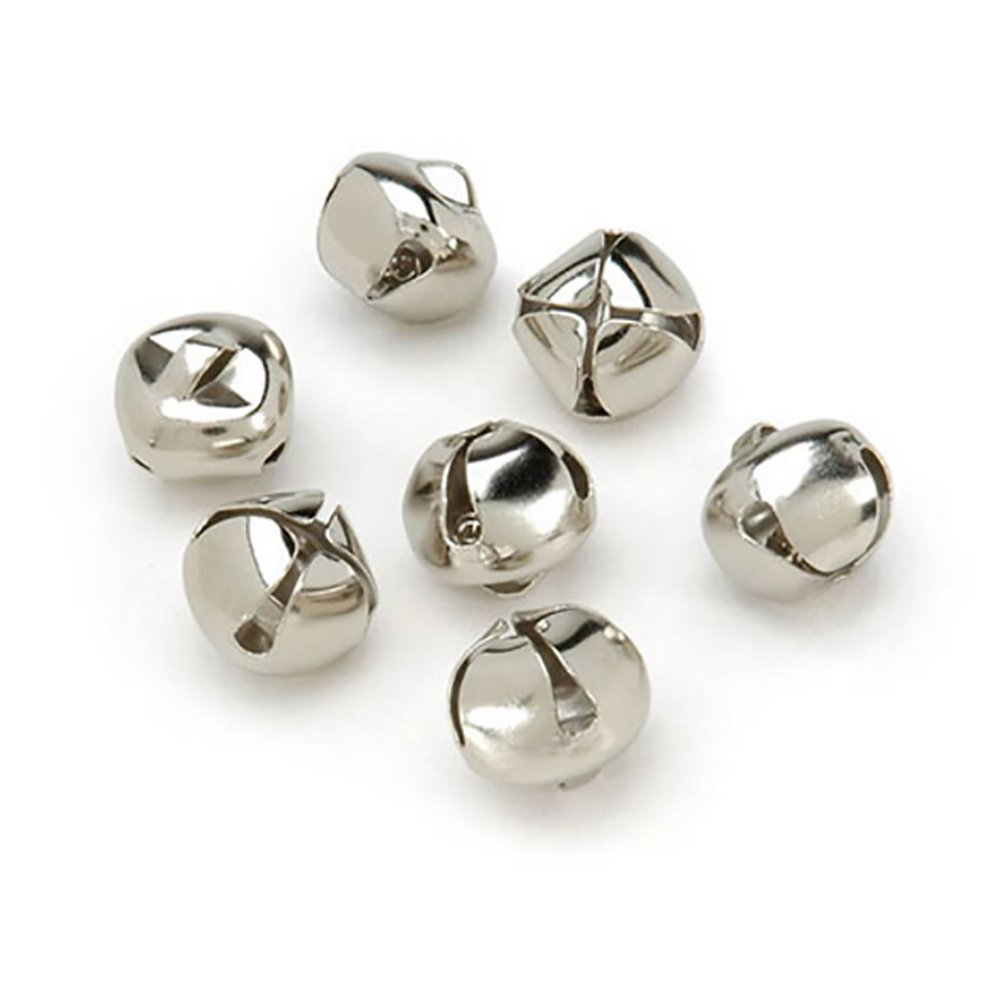 Jingle Bells .25 20/Pkg-Silver Darice 1090-11