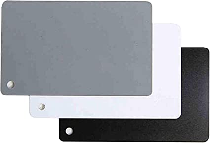 La tarjeta de color gris de balance de blancos-Starter Pack
