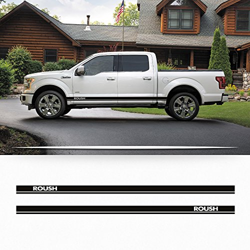 Side Panel Decal - Ford F150 2014-2016 Roush side rocker stripe decal door graphics