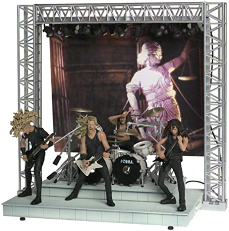 Metallica Action Figures on Stage with Lights and Sound by Metallica: Amazon.es: Juguetes y juegos