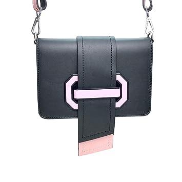 Mujer Rosa WWDDVH para Amazon Bolso Color MiniBolso es Bandolera IIpOq