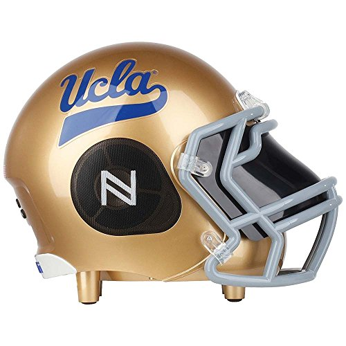 Ucla Bruins Ncaa Pattern - Nima Athletics NCAA Football UCLA Bruins Wireless Bluetooth Speaker. Officially Licensed Portable Helmet Speaker by NCAA College Football - Small